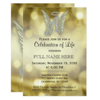 Celebration Of Life Invitations Announcements Zazzle Co Uk