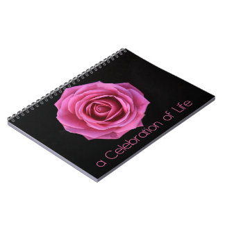 Celebration of Life guestbook Notebook