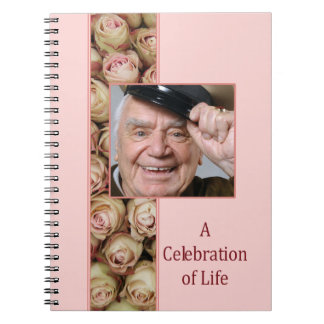 Celebration of Life guestbook Notebooks