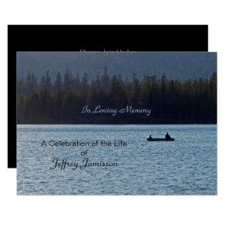 Celebration of Life Invitation, Fishermen Invitation
