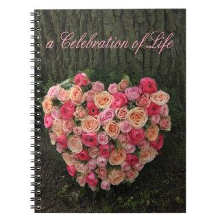 Celebration of Life Notebook