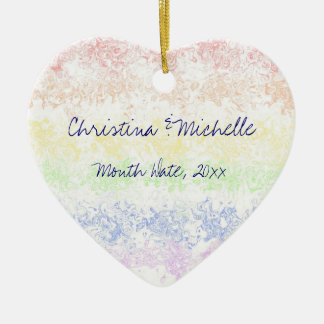 Celebration of Love Christmas Ornament