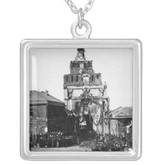 Celebration of the 500 year anniversary silver plated necklace