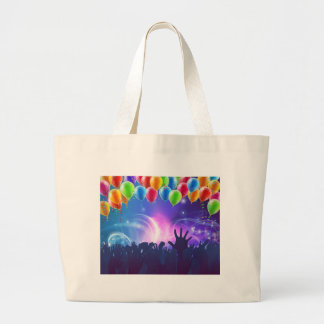 Celebration Party Balloons Background Large Tote Bag