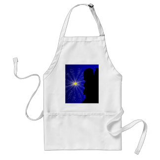 Celebration Silhgouette Kiss Standard Apron