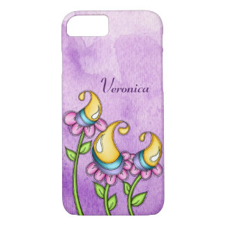 Celebration Watercolor Doodle Flower iPhone 8/7 iPhone 8/7 Case