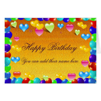 Celebrations,Any Occasion_ Greeting Card