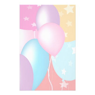 Celebrations - Happy Birthday: Special Soft Colors Stationery Paper