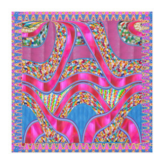 Celebrations Jewels Ribbons Graphic Spectrum Gift Canvas Prints