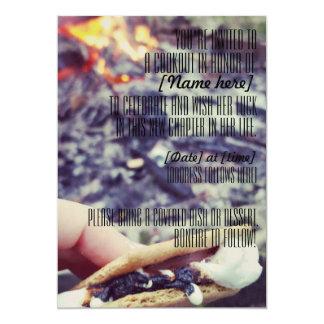 Celebratory cookout/ bonfire invitation