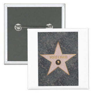 Celebrity & Figure Skater Ishah Laurah Wright 15 Cm Square Badge