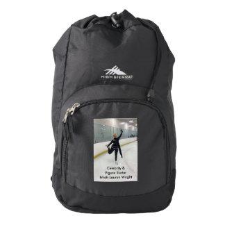 Celebrity & Figure Skater Ishah Laurah Wright 2016 Backpack