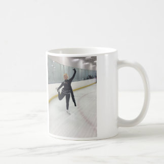 Celebrity Figure Skater Ishah Laurah Wright Basic White Mug