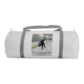 Celebrity & Figure Skater Ishah Laurah Wright Gym Duffel Bag