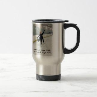 Celebrity & Figure Skater Ishah Laurah Wright Travel Mug