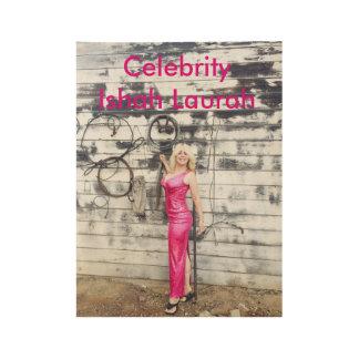 Celebrity Ishah Laurah Wood Poster