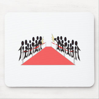 Celebrity Red Carpet Mouse Pad