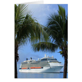 Celebrity Silhouette Cruise to Paradise Card