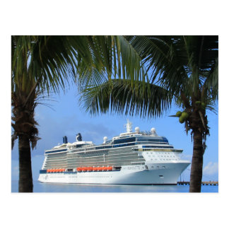 Celebrity Silhouette Cruise to Paradise Postcard