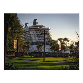 Celebrity Solstice Cruise Ship Photo Prints