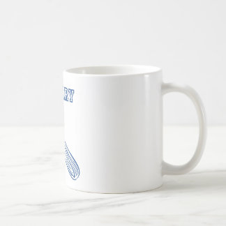 celery. basic white mug