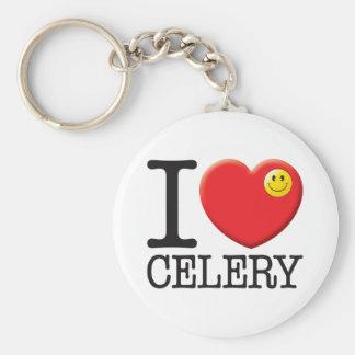 Celery Keychain