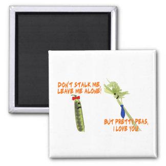 Celery Stalker & Pretty Peas Magnet