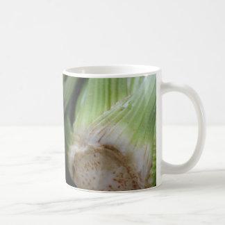 Celery Themed Classic White Mug