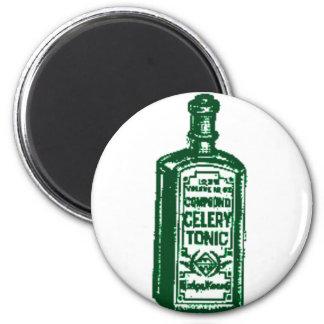 Celery Tonic 6 Cm Round Magnet