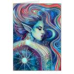 Celesta Surreal Fairy Fantasy Art Celestial Greeting Card