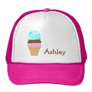 Celeste Camo; Ice Cream Cone Trucker Hat