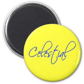 Celestial 6 Cm Round Magnet
