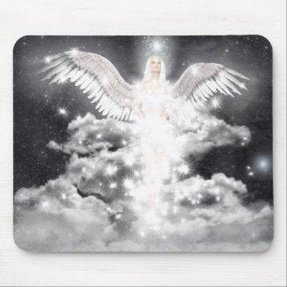 Celestial Angel White Mouse Mat