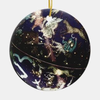 Celestial Astrological Globe Ornament