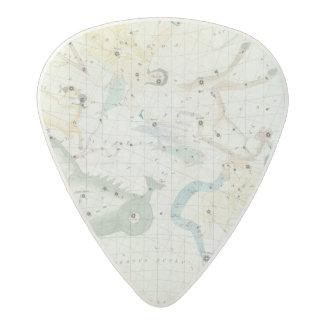 Celestial Atlas 3 Acetal Guitar Pick
