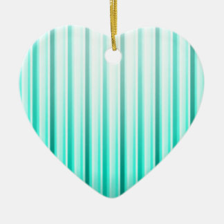 Celestial Bands Ceramic Heart Decoration
