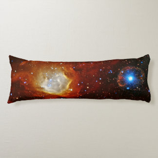 Celestial Bauble - N90 and SXP1062 space picture Body Cushion