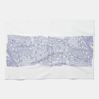 Celestial Blue Tea Towel