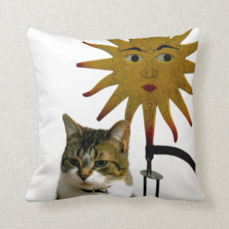 Celestial Cat Cushion