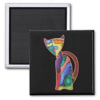 Celestial Cat Magnet
