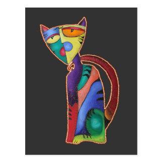 Celestial Cat Postcard