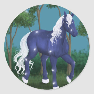 Celestial Classic Round Sticker