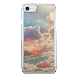 Celestial Clouds Carved iPhone 8/7 Case