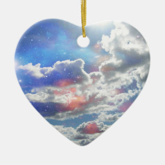 Celestial Clouds Ornament