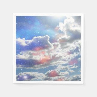 Celestial Clouds Paper Napkins