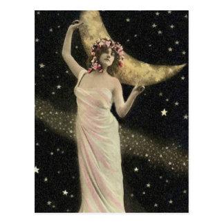 Celestial Drama Queen Postcard