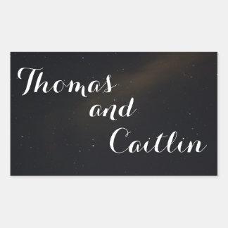 Celestial Dream Rectangular Sticker