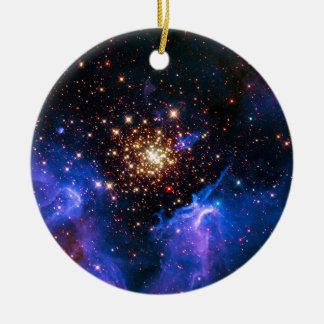 Celestial Fireworks Christmas Ornament