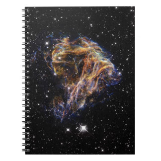 Celestial Fireworks Spiral Notebook