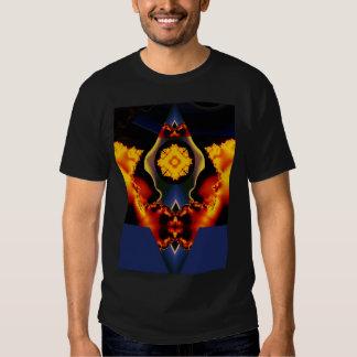 Celestial flower tee shirts